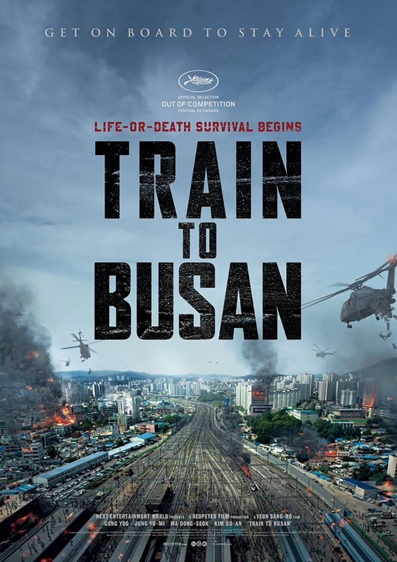 Traukinys į Busaną / Train to Busan (2016)