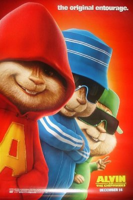 Alvinas ir burundukai / Alvin and the Chipmunks (2007)