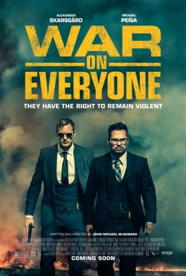 Kai svyla padai / War on Everyone (2016)