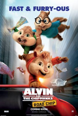 Alvinas ir Burundukai: Didžioji Kelionė / Alvin and the Chipmunks: The Road Chip (2015)