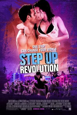 Šokis hip hopo ritmu 4 / Step Up Revolution (2012)