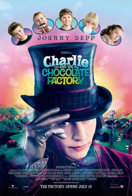 Čarlis ir šokolado fabrikas / Charlie and the Chocolate Factory (2005)