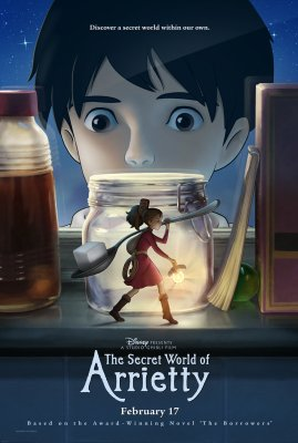 Aerati iš nykštukų šalies / The Secret World of Arrietty / Kari-gurashi no Arietti (2010)