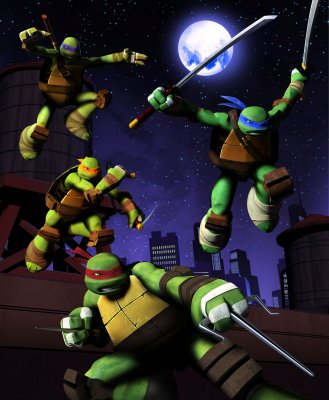 Vėžliukai Nindzės (1 sezonas) / Teenage Mutant Ninja Turtles (season 1) (2012)