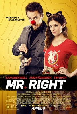 Mano Tobulas Gangsteris / Mr. Right (2016)