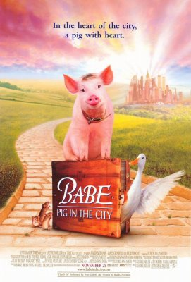 Mažylis mieste / Babe: Pig in the City (1998)