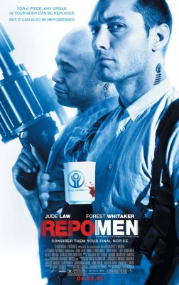 Skerdikai / Repo Men (2010)