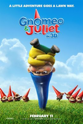 Gnomeo ir Džiuljeta / Gnomeo and Juliet (2011)