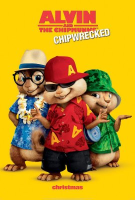 Alvinas ir burundukai 3 / Alvin and the Chipmunks: Chipwrecked (2011)