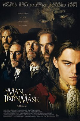 Žmogus Su Geležine Kauke / The Man in the Iron Mask (1998)