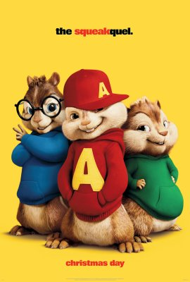 Alvinas ir burundukai 2 / Alvin and the Chipmunks: The Squeakquel (2009)
