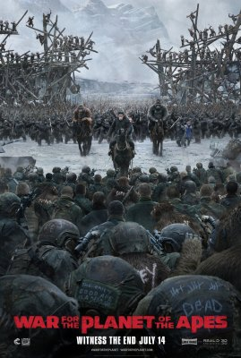 Karas už beždžionių planetą / War for the Planet of the Apes (2017)