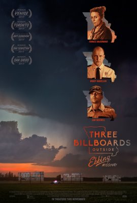 Trys stendai prie Ebingo, Misūryje / Three Billboards Outside Ebbing, Missouri (2017)