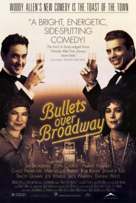 Kulkos virš Brodvėjaus / Bullets Over Broadway (1994)