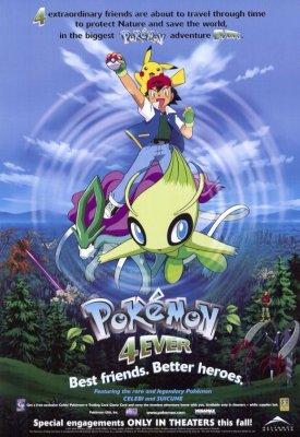 Pokemonai amžinai /  Pokemon 4Ever (2001)