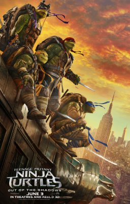 Vėžliukai nindzės: šešėlių įkaitai / Teenage Mutant Ninja Turtles: Out of the Shadows (2016)