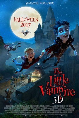 Mažasis vampyras / The Little Vampire (2017)