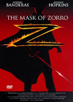 Zoro kaukė / The Mask Of Zorro (1998)