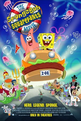Kempiniukas Plačiakelnis / The SpongeBob SquarePants Movie (2004)