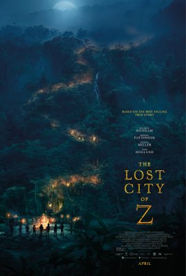 Prarastasis miestas Z / The Lost City of Z (2016)