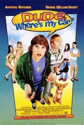 Žąsine, kur mano automobilis? / Dude, Where's My Car? (2000)
