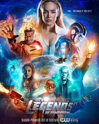 Rytdienos legendos (2 sezonas) / Legends of Tomorrow (season 2) (2016)