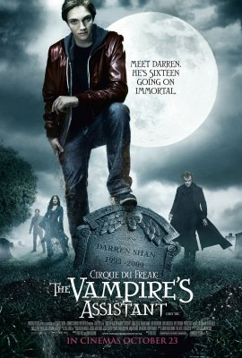 Monstrų cirkas: vampyro padėjėjas / Circus of the Freak / Cirque du Freak: The Vampire's Assistant (2009)