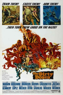 Purvinas tuzinas / The Dirty Dozen (1967)