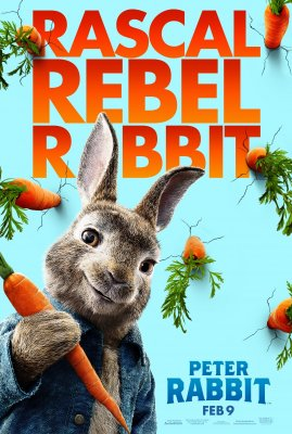 Triušis Piteris / Peter Rabbit (2018)