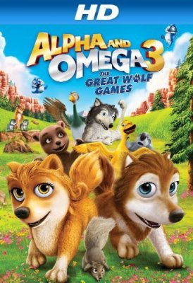Alfa ir Omega 3 / Alpha and Omega 3: The Great Wolf Games (2014)