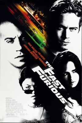 Greiti ir įsiutę / The Fast and the Furious (2001)